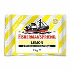 Fisherman's Friend Throat Lozenges: LEMON - 2 pack- Made in Germany