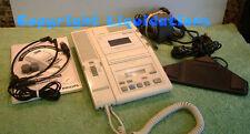 Philips LFH560 mini cassette transcripteur, Transcription / Dictée machine