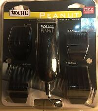 """Wahl Peanut Clipper/Trimmer 8655 Hair Cut  """"Black""""  New - Unisex Clippers"""