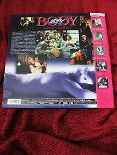 Madonna BODY OF EVIDENCE Laserdisc JAPAN Promo OBI Box Set Lot DVD Sex Erotica