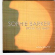 (EM770) Sophie Barker, Break The Habit sampler - 2014 DJ CD
