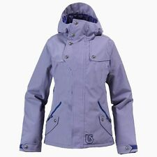 BURTON Women's DELIRIUM Snow Jacket - Royal Pain Prep Ging - Medium - NWT