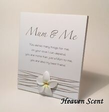 Splosh Mum & Me Poem Great Gift Ideas for Her Mother Birthdays etc WF048