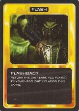"""Doctor Who MMG CCG - Flash """"Flashback"""" Card"""