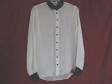 Ladies Sheer KDK London White Shirt Size 12