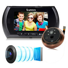 4.3 inch LCD Digital Peephole Viewer 140° Door Eye Doorbell Video Camera Monitor