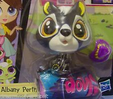 Littlest Pet Shop Albany Perth with Purple Hat OUT OF PACKAGE #3957
