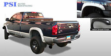 BLACK PAINTABLE Pocket Fender Flares 02-08 RAM 1500; 03-09 RAM 2500 / RAM 3500