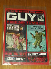 GUY #1 PEEPING TOMS LOU LARGO MYSTERY BUBBLY ANNE SKID ROW UK MAGAZINE~