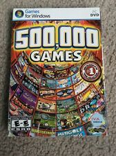 500,000 Games PC DVD find seek hidden object picture, Puzzles Flawless Disc