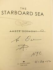Starboard Sea Amber Dermont ~ SIGNED & DATED ~ 2012 HB 1ST/1ST BRAND NEW