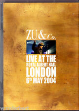 "DVD - "" ZU & Co. - Live at the Royal Albert Hall London 6th May 2004 """