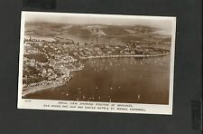 Aerial View Showing Braganza- Idle Rock Ship & Castle Hotels St Maws Cornwall