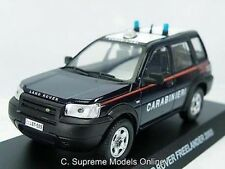 LAND ROVER FREELANDER '03 1/43RD SIZE EMERGENCY SERVICES ITALY TYPE Y0675J^*^