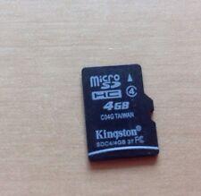 4GB Micro SD SDHC Memory Card Class 4