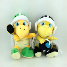 2X Super Mario Bros Hammer Bomb Bro. Koopa Troopa Plush Toy Stuffed Animal 8""