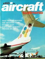 AIRCRAFT ILLUSTRATED APR 73: STRAKEN E.420/ HMS OSPREY/ MOSQUITO P'TYPE & MUSEUM