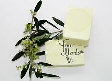 3 Bars  Of Greek Organic Hand Made 100% Extra Virgin Olive Olive Oil Soap