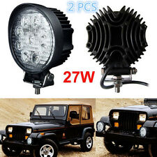 2 X 27W 12V LED Working for Boat SUV Jeep Truck Cree Lamp Light FLOOD Beam Light