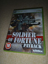 XBox 360 Game Soldier of Fortune Payback 5030917050657
