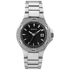 Gant Ladies Stainless Steel Watch Winfield W70031 Black Face  New Boxed
