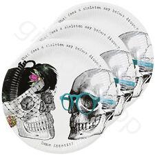 Halloween squelette équipage assiettes en papier fête d'halloween décoration de table accessoire