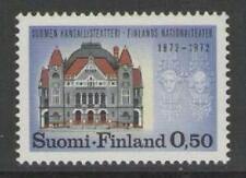 FINLAND SG792 1972 CENTENARY OF FINNISH NATIONAL THEATRE MNH