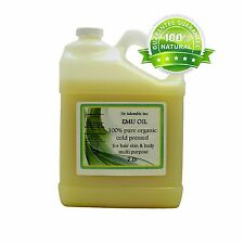 AUSTRALIAN EMU OIL 100%PURE EMU OIL BY DR.ADORABLE  ONE GALLON FREE SHIPPIN