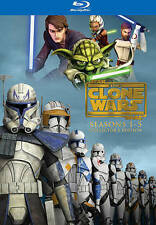 STAR WARS -  The Clone Wars -  Seasons 1-5 (Blu-ray Disc, Region Free). Free shi