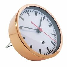Alarm Clock Copper with Red Sweep Second Hand