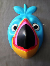 KELLOGG CEREAL FRUIT LOOPS TOUCAN SAM CHILD SIZE HALLOWEEN MASK PVC