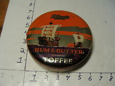 vintage tin--RILEY'S RUM & BUTTER flavoured TOFFEE