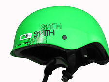 - New - Smith Optic Holt Park Ski, Snow, Skate , BMX Helmet Neon Green Small