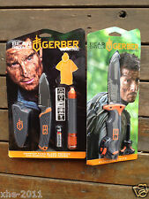 Gerber Bear Grylls Ultimate Serrated knife & Fixed Blade, Poncho & Torch Combo
