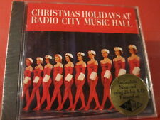 "LSOCD-1010 RADIO CITY""CHRISTMAS HOLIDAYS""(CLASSIC RECORD GOLD-CD/FACTORY SEALED)"