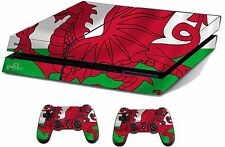 Wales Sticker/Skin PS4 Playstation 4 Console/Remote controller,ps4sk24