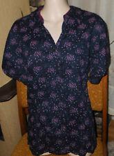 schöne  Bluse von Gina Benotti in Gr 42 knitteroptik