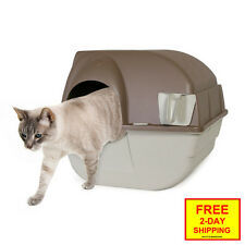 NEW Roll Away Self Cleaning Litter Box, Without Scooping, Unique Multiple-Cats