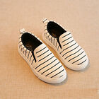 NEW Children Kids Girl Boy Slip-on Sports Sneakers Casual Shoes