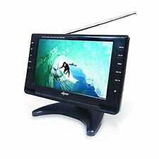 "Axess 9"" LCD TV with Rechargeable Battery and Built-in Speakers TV1703-9"