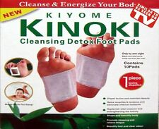 20 Kinoki Detox Foot Patches Pads Body Toxins Feet Slimming Cleanising Herbal