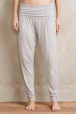 New Anthropologie Foldover Joggers Sz L Size Large NIP Gray Pants by Bordeaux