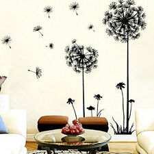 Creative Flower Dandelion Wall Art Decal Sticker Removable Mural PVC Home Decor