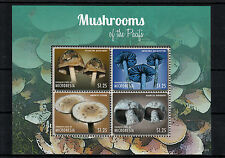 Micronesia 2013 MNH Mushrooms of Pacific I 4v M/S Psilocybe Entoloma Nature