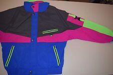 vtg Skyr Neon Color Block Light Ski Skiing Jacket Medium