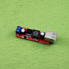 Dual USB Output 9V/12V /24V/36V car charger switch 5VDC-DC buck regulator module