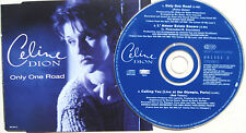 CELINE DION CD Only One Road 3 Track Misled / L'amour / Calling - LIVE  UNPLAYED