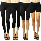 IUILE Seamless Solid Stretch Shorts Spandex Leggings Yoga Biker Exercise NEW