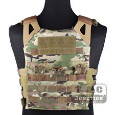 Emerson Tactical Compact Jumpable Plate Carrier JPC Lightweight Vest Multicam