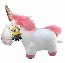 "Despicable Me 2 Minions 11"" Unicorn Fluffy Soft Plush Toy - USA Seller"